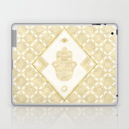 A Blessing (Gold) Laptop & iPad Skin