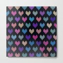 Colorful Knitted Hearts VIII by creativebd