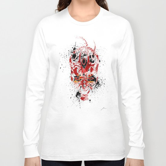 Red Rage Long Sleeve T-shirt