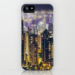 Hong Kong by iPhone Case