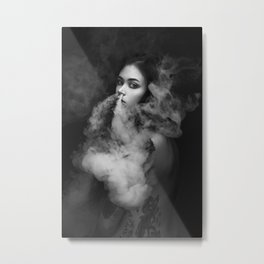 Up in Smoke Metal Print
