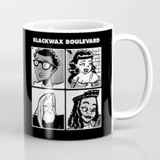 Blackwax Boulevard Album Cover  Mug