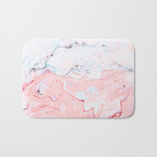Marble Love #society6 #decor #buyart Bath Mat
