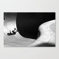 pivot Canvas Prints featuring Kalle Berglind / Frontside Pivot / Malmö by Ricardo Muñoz Carter