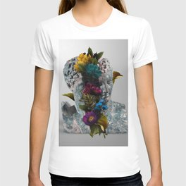 Broken Bust Sculpture T-shirt