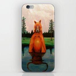 unbearabull market iPhone Skin