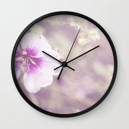Dream of lightness Wall Clock