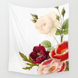 romantic floral design Wall Tapestry