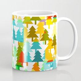 Colorful fir pattern Coffee Mug