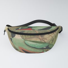 Azure breasted Pitta Fanny Pack