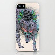 Journeying Spirit (wolf) iPhone SE Slim Case