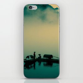 Mekong highway iPhone Skin
