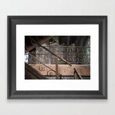 Brew House stairs Framed Art Print