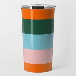 Color Stripe_007 Travel Mug
