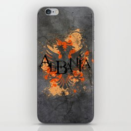 albania  iPhone Skin