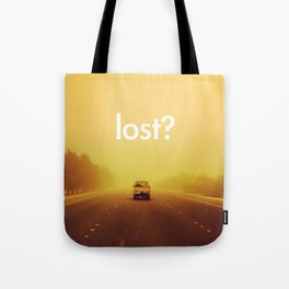 lost? Tote Bag