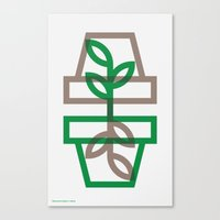 plants Canvas Prints featuring Plants by Dylan C. Lathrop
