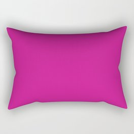 Medium violet red Rectangular Pillow