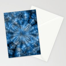 Fractal Imagination I - Sapphire Stationery Cards