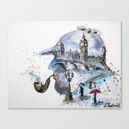 Mr. Sherlock Canvas Print