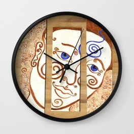 Contemplation of Ajna Wall Clock