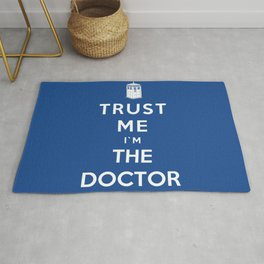 Trust Me I`m The Doctor Rug