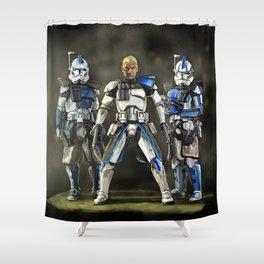Clone trinity Shower Curtain