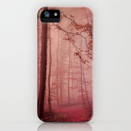Rose Red's Forest iPhone Case