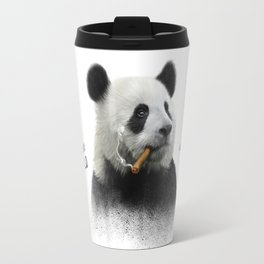 Panda contemplator Travel Mug