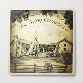 Swag Country Inn Metal Print