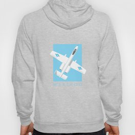 A-10 Warthog Jet Aircraft - Sky Hoody