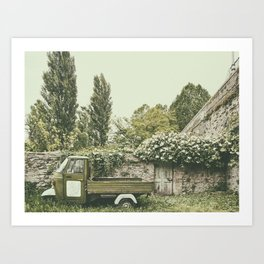 Italian country life Art Print