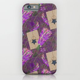 Bouquet of lavender. iPhone Case