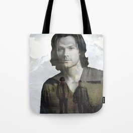 Sam Winchester Fan Art Tote Bag