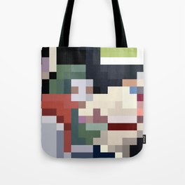 Mm Pixel Food Tote Bag