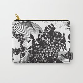 Geometric Nature Garden Carry-All Pouch