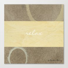 Relax Modern Art w/ Signature Canvas Print