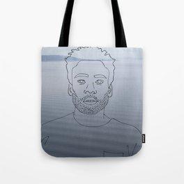 wavy childish gambino Tote Bag