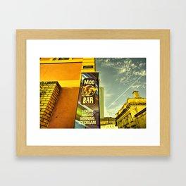 Moo Bar  Framed Art Print
