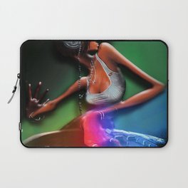 Funky Miss DJ Laptop Sleeve