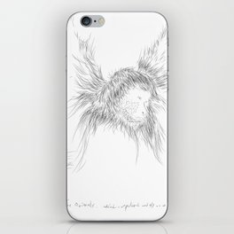 The Animals - weird, unpolished and ugly as we are #1 iPhone Skin
