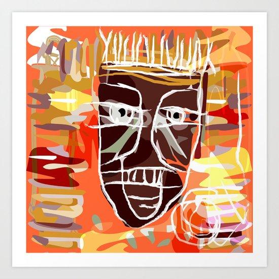 AFRICA PEOPLE Art Print