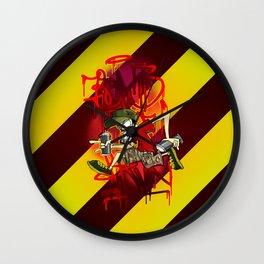 Bomb & Run Wall Clock
