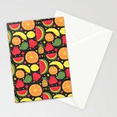 Fruity Fruit Pattern Stationery Cards