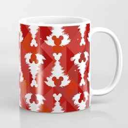 Mouse Ears Christmas Trees Coffee Mug