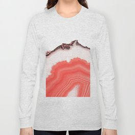 Living Coral Agate Long Sleeve T-shirt