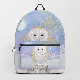 Snowy the Barn Owl Backpack
