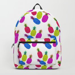 Pineapple Pattern Vibrant Candy Backpack