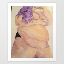 Rubenesque Beauty Art Print