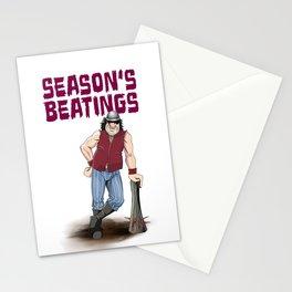 Season's Beatings Stationery Cards